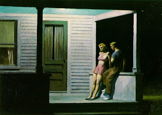 Summer Evening Edward Hopper Verão Noite de Verão pintura