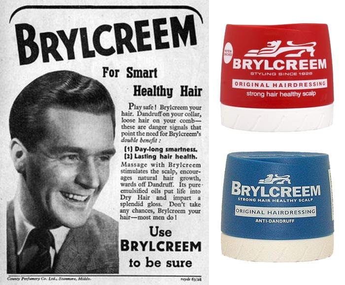 Brylcreem on 1950 old ads for cars