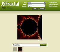JavaScript Fractal Explorer