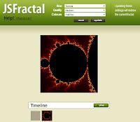 JavaScript Fractal Explorer