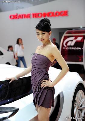 Audi Cars - Audi Car Show Girls