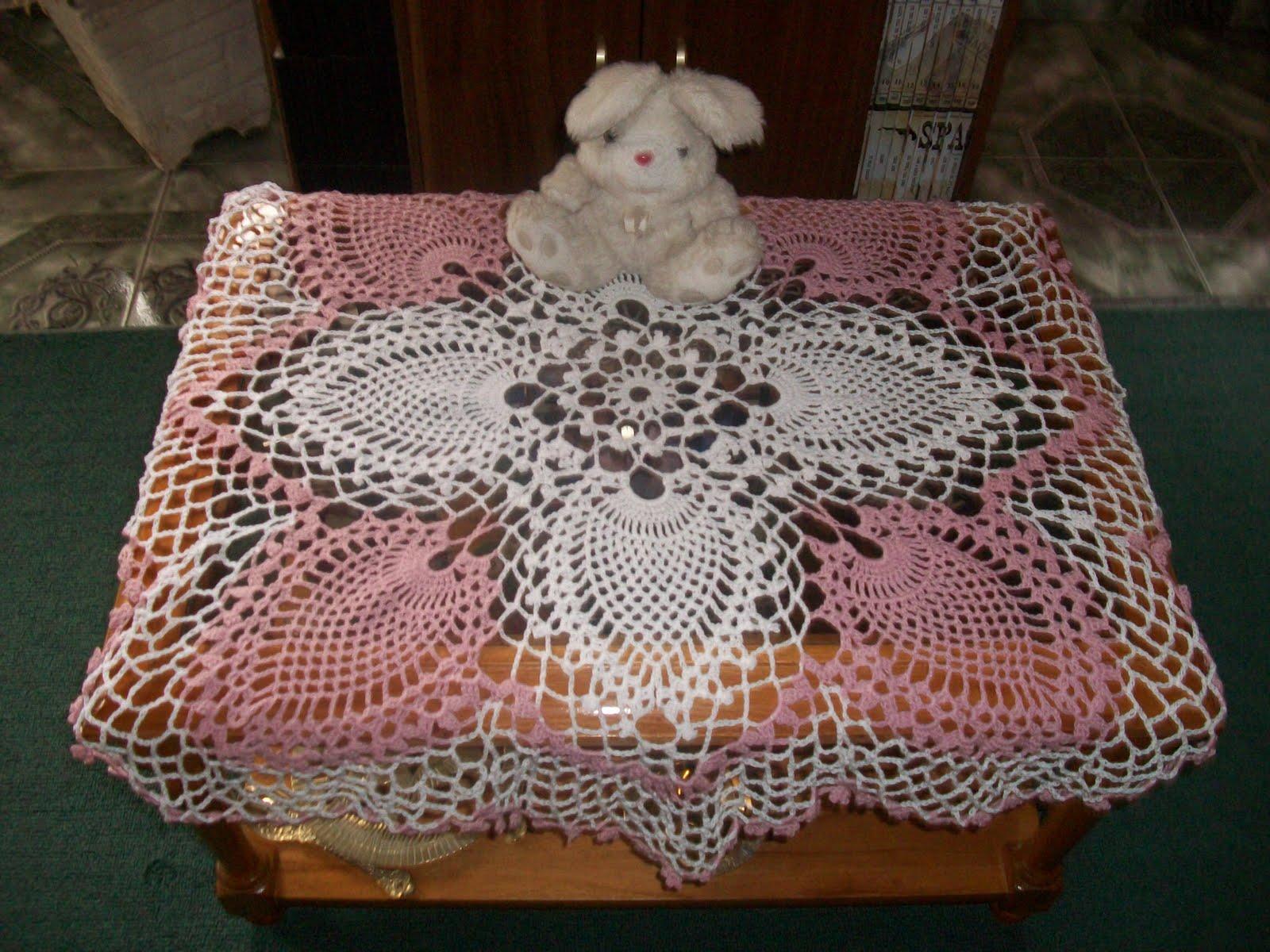 Mirtejidos artesanal centro de mesa con grafico for Centro de mesa a crochet