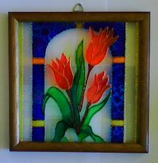Vitral Flores