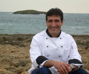 Manuel Molina at new restaurant SEA