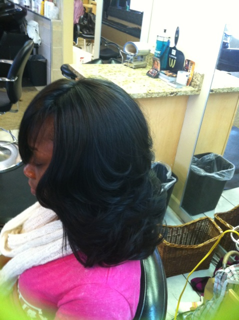 Full Sew in Weave with Closure