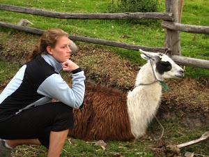Andrea and Llama
