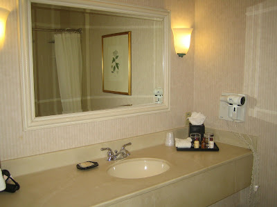 Sheraton Salt Lake City - room 122 bathroom