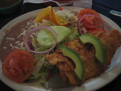 Mariscos Playa Hermosa - fried fish platter