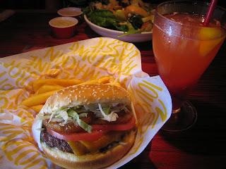 Red Robin - Banzai Burger and Freckled Lemonade