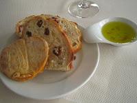 Kai - bread plate w/ olive oil