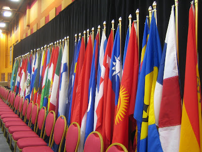 various flags of the world