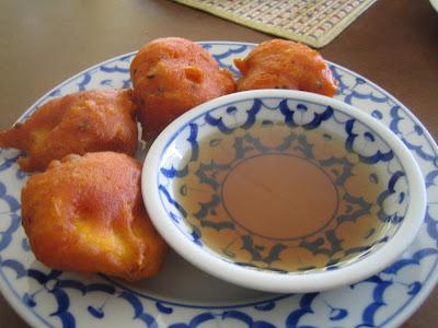 Chanpen - fried sweet potato