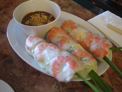 Juice House Boba - spring rolls