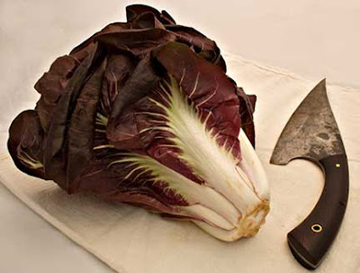 Treviso Radicchio and Knife