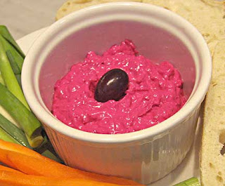 Beet-Yogurt Spread