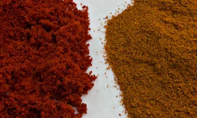 Poivron Rouge and Paprika