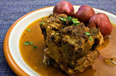 Oxtail Braised in Sherry