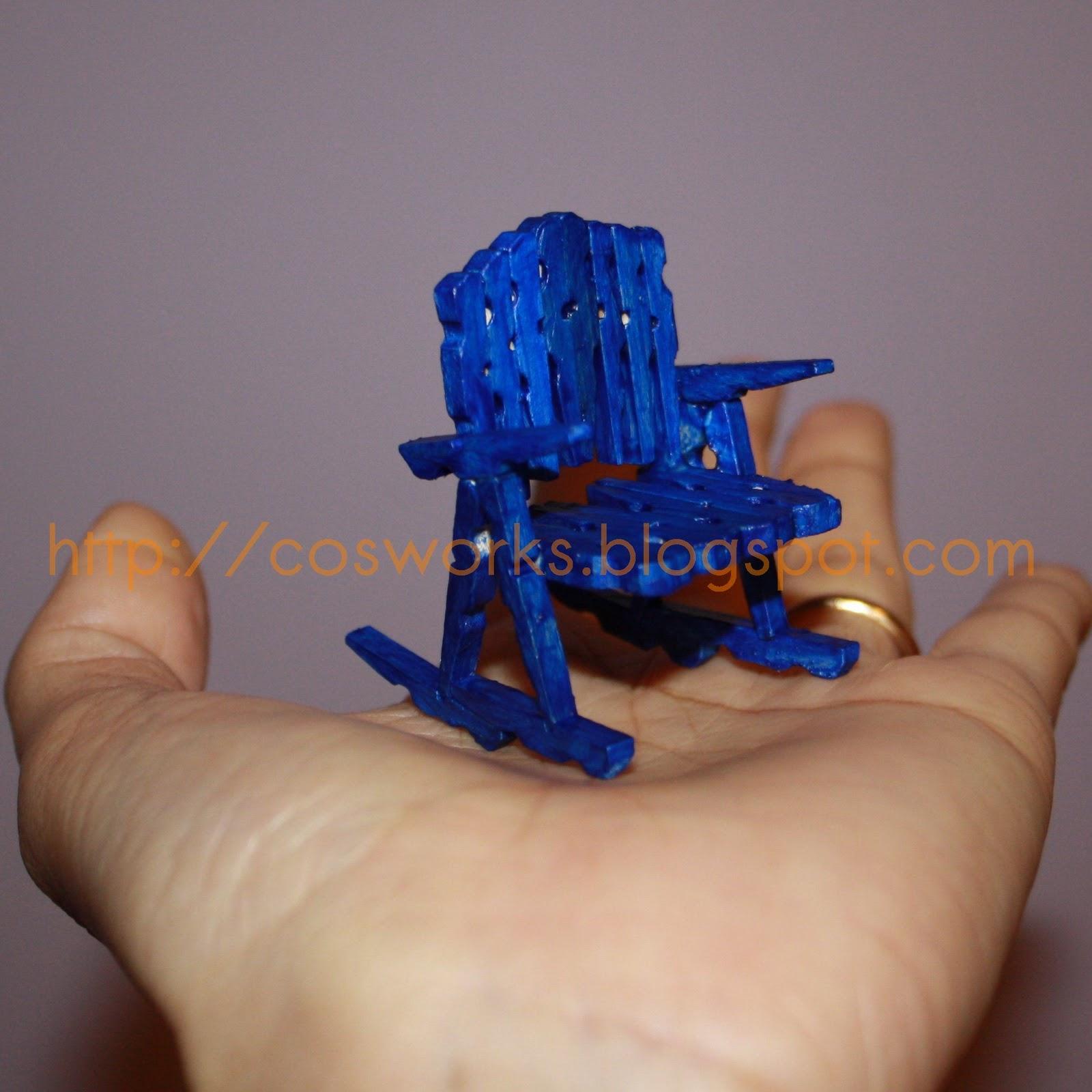 Cosworks: Mini cadeira de balanço! #0645B9 1600x1600