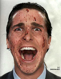 Image of Christian Bale in the film American Psycho