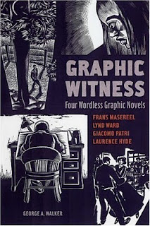 Book cover to Graphic Witness: Four Wordless Graphic Novel edited by George Walker