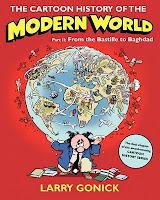 Book cover to The Cartoon History of the Modern World Part 2 by Larry Gonick
