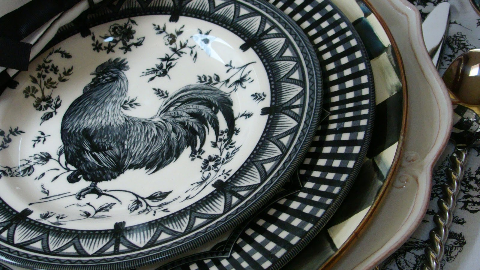 I Found More Rooster Plates Mountain Breaths