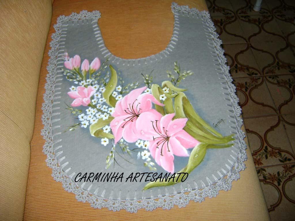 Carminha Artesanato: JOGO DE BANHEIRO DE EMBORRACHADO CINZA #714A20 1024x768 Banheiro Com Vaso Cinza