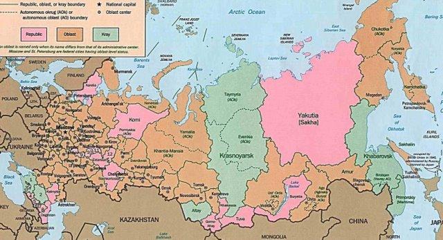 Ethnic Russia European Russia and the Caucasus
