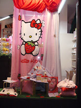 Vetrina Hello Kitty
