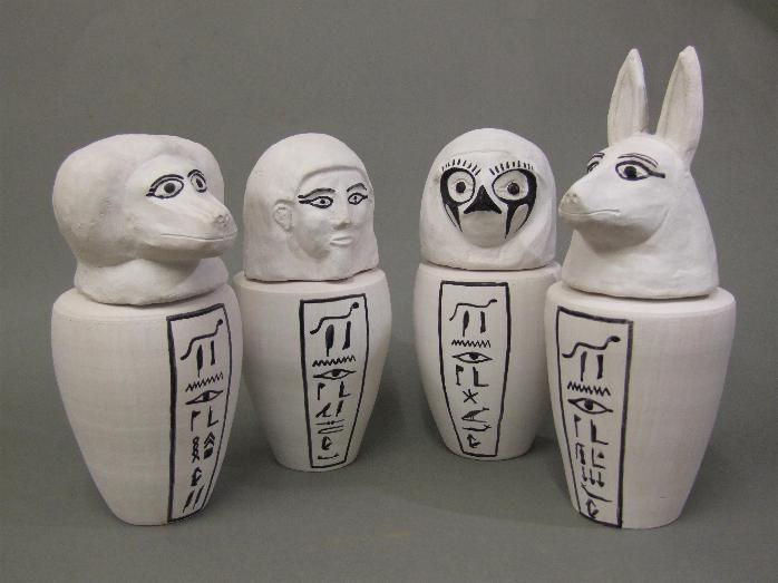 Egyptian Canopic Jars