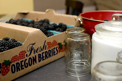 Fresh Oregon Blackberries