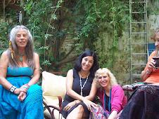 En el jardín... con Luzclara