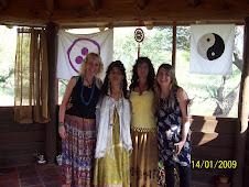 Con Lila, maestra de la Danza de Tara