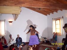 Pachi Franco, mujer chamana