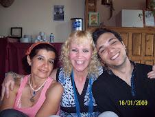 Zaida, Germana y Darío