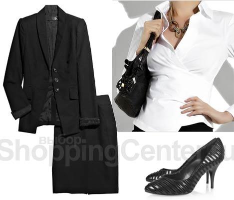 Діловий стиль для жінок чорний