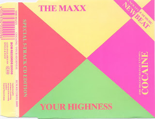The Maxx - Cocaine/Your Highness [CD Maxi-Single 1989]