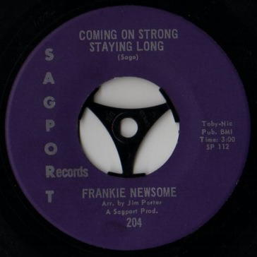 Frankie Newsome Coming On Strong Staying Long