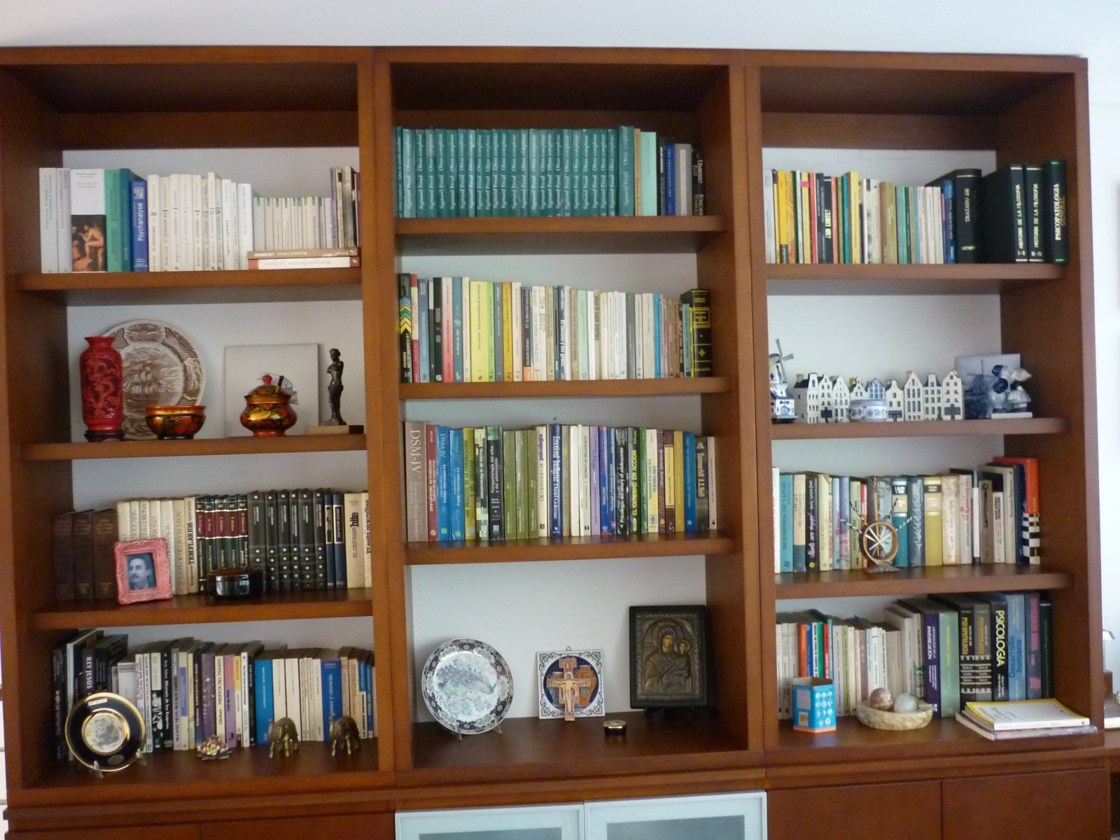 Trabajos muebles bibliotecas for Bibliotecas muebles