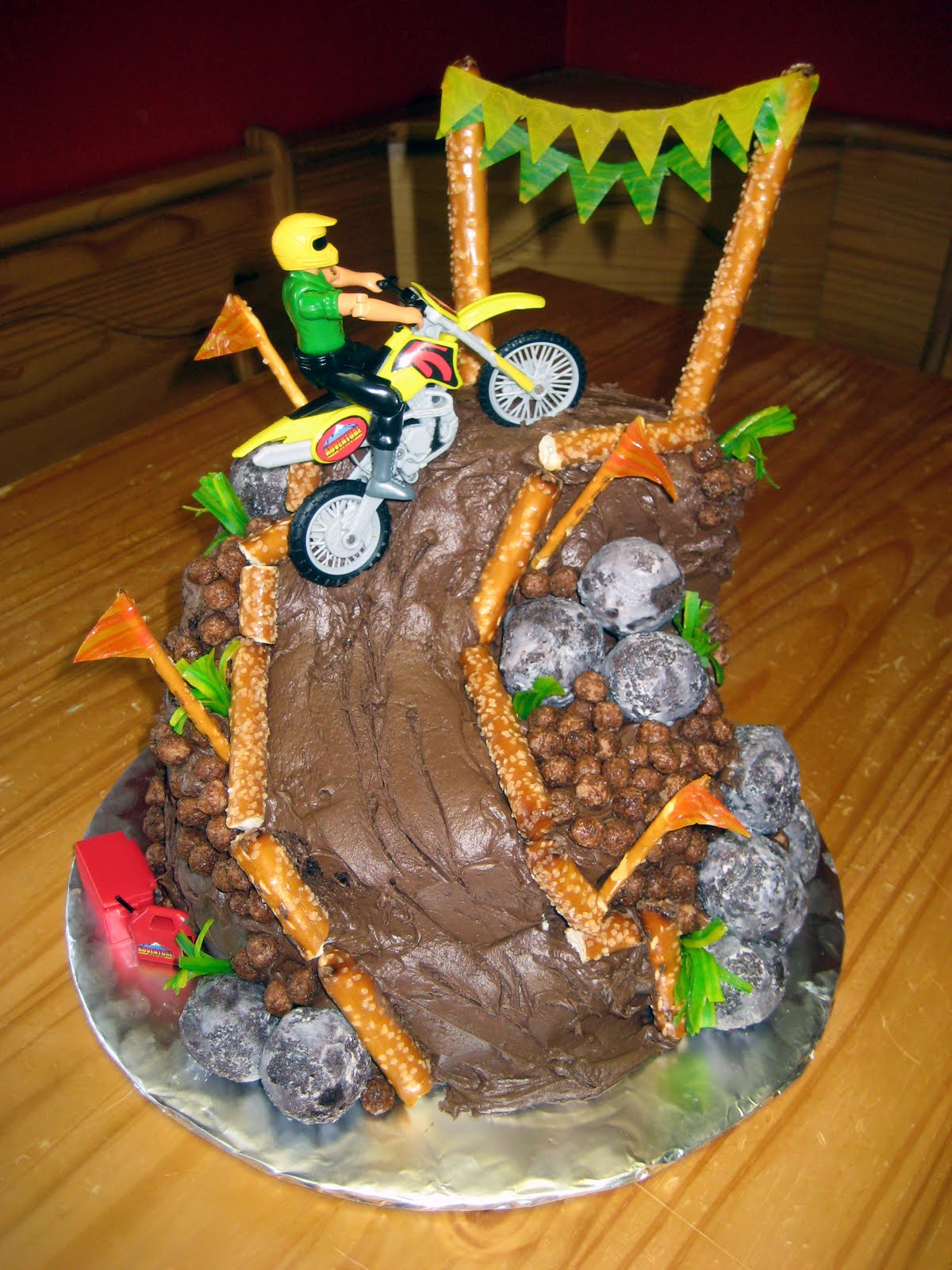 dirt bike cake - photo #2