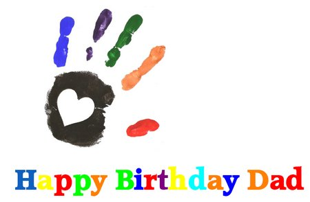 Magic image inside happy birthday dad cards printable