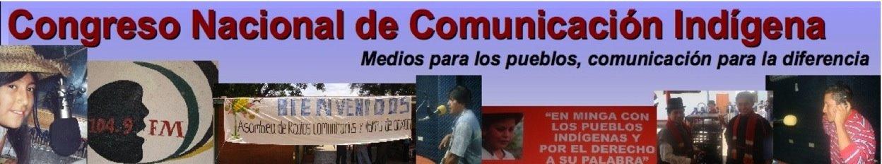 Congreso Nacional de Comunicación Indígena