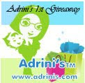 Adrini's 1st Giveaway