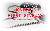 MONICA'S FIRST GIVEWAY