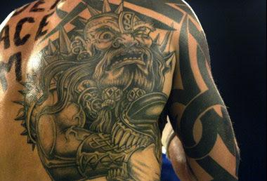Mythology tattoo