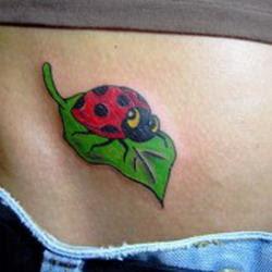ladybird tattoo