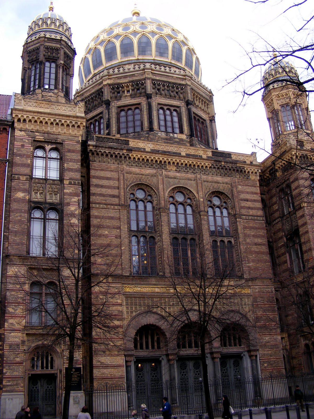 berlijn de nieuwe synagoge