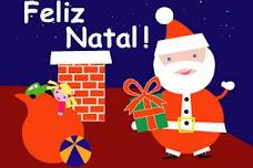 Papai Noel no telhado