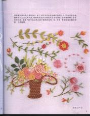 Vaso de Palha com flores