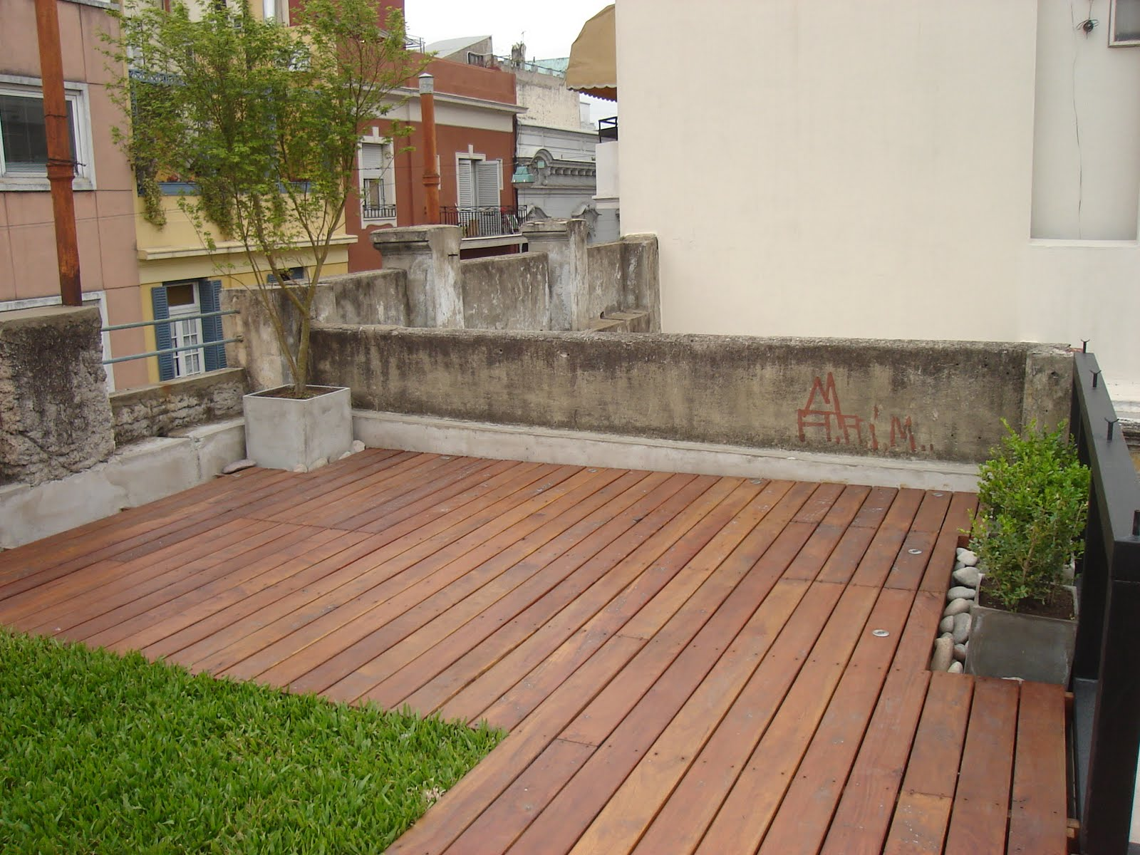 Estudio paisajismo terraza contempor nea san telmo for Paisajismo de terrazas